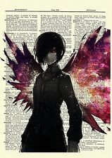 Touka Tokyo Ghoul Anime Dictionary Art Print Poster Picture Book Japanese Manga