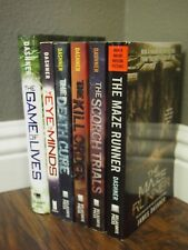 James Dashner Mix Lot - Maze Runner Series + The Game of Lives +The Eye of Mind
