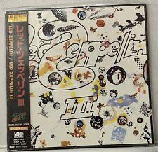 Led Zeppelin – Led Zeppelin III - Japan Import CD– AMCY-2433-1997