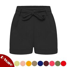Kurze High-Waist Damen-Shorts Chino-Shorts Bermuda Sommer-Shorts sexy S-XL 72