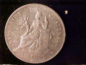 GUATEMALA ONE PESO 1894