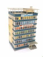 Großes Hochhaus mit Ausstattung BELEUCHTET Spur N D0090