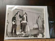 Vintage Unusual Creepy Bizarre Santa Claus photo 1950s 8x10