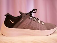 Nike EXP-X14 Men's Black Gray and White Athletic Running Shoes Size 8.5 Sneakers
