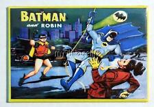 "Vintage BATMAN and ROBIN Lunchbox   2"" x 3"" Fridge MAGNET ART"