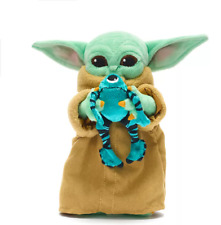 Disney Star Wars Mandalorian Grogu The Child With Sorgan Mini Beanbag Toy *New*