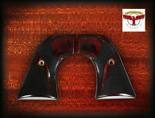 RUGER NEW VAQUERO, MONTADO, 50TH ANV FLATTOP GRIPS ~ SERPENTINE OXBLOOD