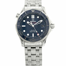 Omega Seamaster Diver 300 M Steel Auto Bracelet Mens Watch 212.30.36.20.03.001