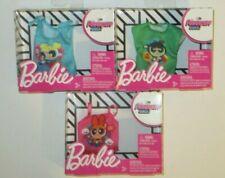New 3 box Lot Barbie Powerpuff Girls Clothing Shirts Tops Cartoon Network NIB