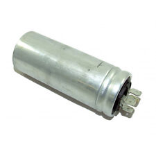 CAGE FAN - METAL ROUND RUN CAPACITOR 8µF / 8UF 400-500V 4 TERMINALS