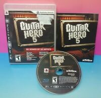 Guitar Hero 5   - Sony PlayStation 3 PS3 Game Complete Tested + Working