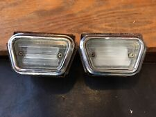 1968 Ford Mustang Front Side Marker Lights