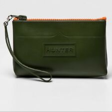 Hunter for Target Small Pouch Bag Clutch Wristlet Olive Green NWT