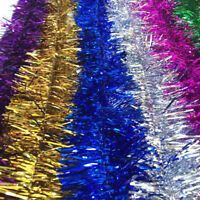2m (6.5ft) Tinsel Christmas Tree Decorations Xmas Garland