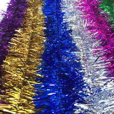 2m (6.5ft) Tinsel Christmas Tree Decorations Xmas Garland