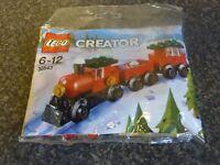 LEGO CREATOR 30543 CHRISTMAS TRAIN POLYBAG SEALED NEW
