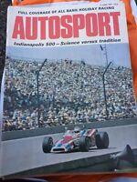 VINTAGE AUTOSPORT MAGAZINE MAG JUNE 1971 F1 RACING CARS