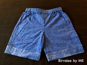 Baby Shorts Handmade by Birralee by ME using Aboriginal fabric. Size 3Mths