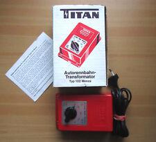 Vintage TITAN Trafo Typ 102 MONZA Rennbahn Carrera Stabo Märklin Fleischmann OVP