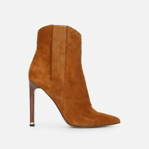 Kenneth Cole New York Women's Riley 110 Western Fashion Boot, Suede, Size UK 6