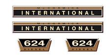 IHC Aufkleber international 624 Gold Logo Emblem Sticker Label