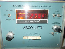 Nametre Viscoliner Continuous Viscometer Model 700 Stainless Steel Sanitary
