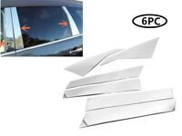 Fit 09-17 Chevrolet Traverse 6PC Stainless Steel Chrome Pillar Post Trim Cover