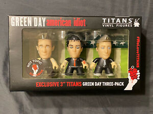 Green Day American Idiot vinyl figure set titans *SOLD OUT* toy hot topic punk