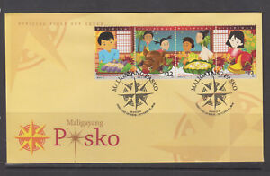 Philippine Stamps 2018 Christmas on First Day Cover