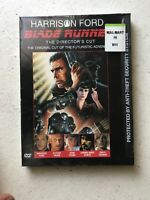 Blade Runner The Director's Cut DVD 1999 Ridley Scott Harrison Ford Rare OOP NEW