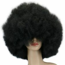 Afro Curly Wigs For Women Party Or Cosplay Head Costume None Lace Wig Hairpieces