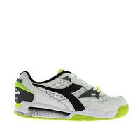 Diadora Rebound Ace Sneaker Uomo 501.173079 C5176 Bianco Nero Verde