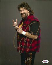 MICK FOLEY  SIGNED 8X10 PHOTO PSA/DNA MANKIND, CACTUS JACK, WWF, WWE, WCW