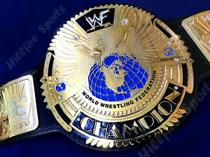 WWF EURO ERA WORLD WRESTLING FEDERATION HEAVYWEIGHT BIG EAGLE CHAMPIONSHIP BELT