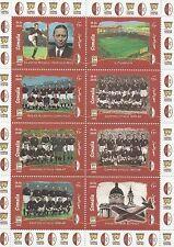 A.C. TORINO CAMPIONI D'ITALIA SUPERGA 1949-1999 calcio italiano MNH foglio TIMBRO