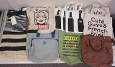 Lot of 11 Assorted Purses Canvas Tote Bags Merona Target New Unused For Resale