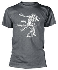 Rage Against The Machine 'Who Laughs Last' (Grey) T-Shirt - NEW & OFFICIAL!