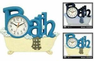 AD Household Bathroom Wall Clock, Bathtub