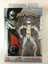 Brand New Power Rangers Lightning Dino Thunder White Ranger Action Figure