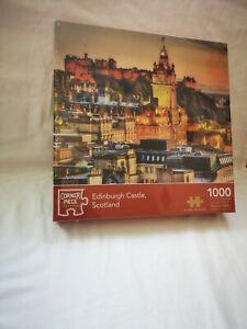 NEW CORNER PIECE JIGSAW - EDINBURGH CASTLE - (1000 PIECES) brand new sealed
