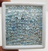 36 CT Natural Sky Blue Topaz Octagon Cut Loose Gemstone Lot 4 Pcs 10*14 MM
