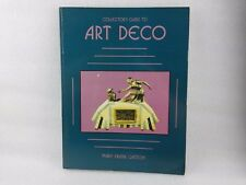 ART DECO Book COLLECTORS Guide by Mary F Gaston 1988 Paperback Book *