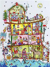 Bothy Threads Cross Stitch Kit - Cut Thru' North Pole House
