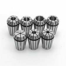 7pcs ER20 Chuck Collet 1/8 to 1/2 Inch Spring Collet Set For CNC Milling Lathe T
