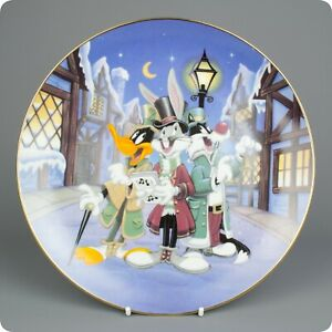 Walt Disney 'Looney Tunes Holiday Collectors' Plate 1992 Ltd Edition
