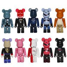 10pcs Set Kubrick Bearbrick Series Brick Bear 5cm PVC Action Figure