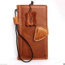 genuine leather Case for Samsung Galaxy S6 book wallet luxury cover magnet RETRO