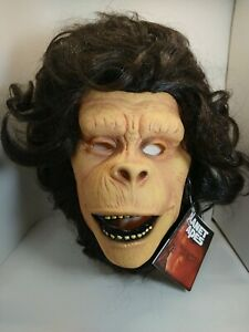 Planet of The Apes Cornelius latex mask 2014 Rubie's Mask illusions New W/Tags