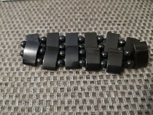 Black Magnetic Hemetite Stretch Bracelet