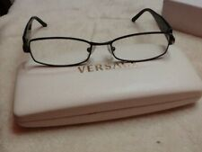 Made in Italy! Versace MOD.1139 1009 Women's Black Eyeglasses 50/16 135 w/Case